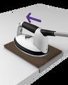Tapis pour nettoyer la semelle du fer
